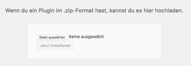 wordpress-plugin-hochladen